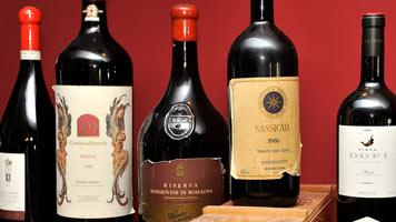 Exclusive Weinauswahl